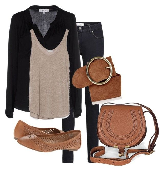 """FEELING LIKE CASUAL CAMEL"" by lusciouslulls on Polyvore featuring Sandwich, Report, Chloé, Milly, Topshop and Zara"