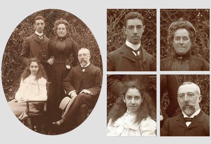 Theomin Family Photograph.