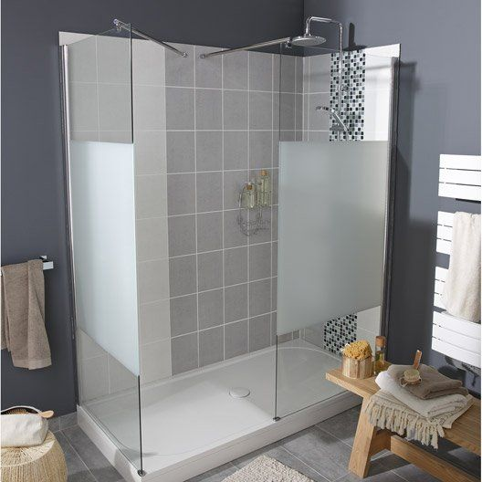 1000 ideas about paroi de douche italienne on pinterest shower walls douche italienne and Cabine de douche ikea