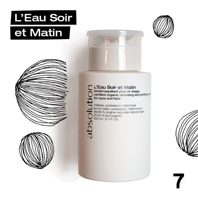 """DAY 7 of AbsoCalendar This Wednesday we are giving you the chance to win our Eau du Soir et Matin which removes make-up and looks in 15 seconds.   In order to participate to today's drawing just follow those 3 easy steps: Like our page @absolution_cosmetics (if you haven't already  ). Like this picture. Answer this question bellow we are curious: """"When do you take better care of you skin morning or night?"""". We will be drawing one winner at midnight Paris time everyday. The winner will be…"""
