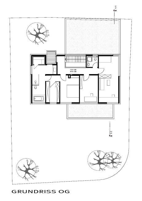 Grundriss og einfamilienhaus in zirndorf architecture for Architektur einfamilienhaus grundrisse