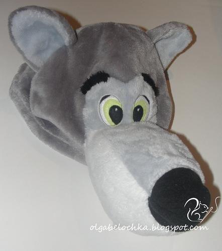 Крой и лекала деталей костюма волка