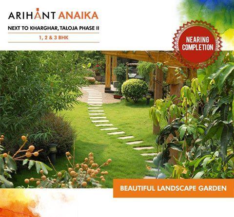 Arihant Anaika - Affordable housing in half the price of Kharghar Next to Kharghar, Taloja Phase II 1,2 & 3 BHK - Riverside County Beautiful Landscape Garden www.asl.net.in/arihant-anaika.html #ArihantAnaika #RealEstate #Kharghar #NaviMumbai #Property