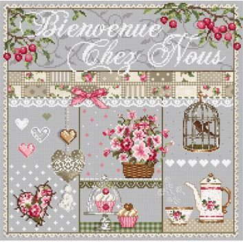 Madame la Fee cross stitch patterns and kits