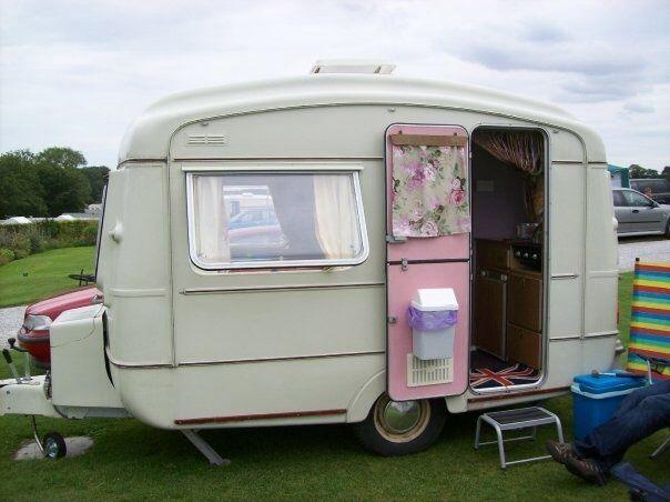 Vintage Caravan Viking Fibreline 2 Berth Retro 1977 With