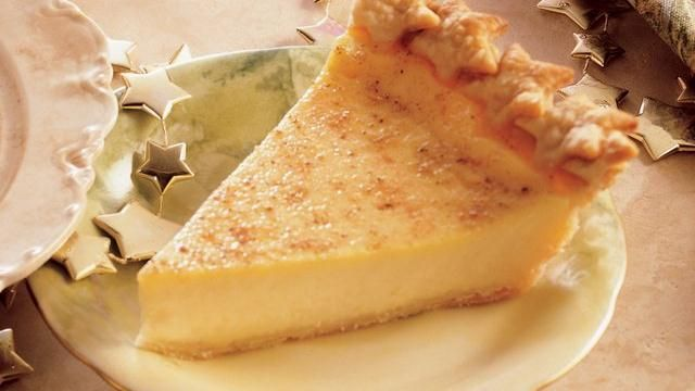 Holiday Eggnog Custard Pie (my other post for this recipe didn't have the right link) SO I SEARCHED FOR IT!!! hahaha, YUM