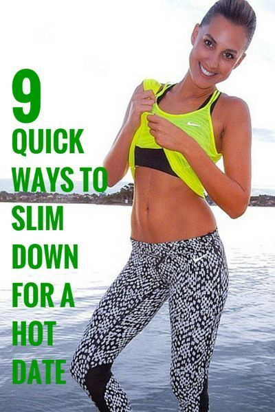 9 Ways To Look Slimmer in 7 Days