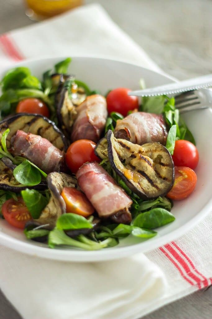 Paleo salade met vijgendressing
