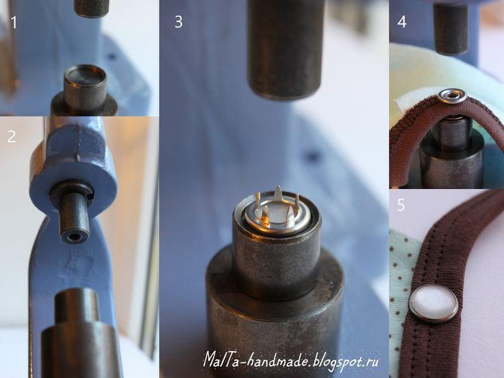 malta-handmade: Мастер-класс по установке металлофурнитуры с помощью пресса TEP-1