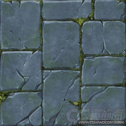 地砖贴图-游戏二维资源区-CG模型网