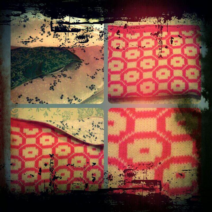 Maskinstrik til min tablet - Færøsk mønster -eget design