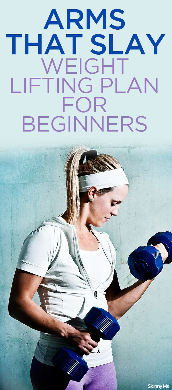 If you're ready to take on this lifting challenge, print out or copy the plan and head to the gym! - Arms that Slay: Weightlifting Plan for Beginners