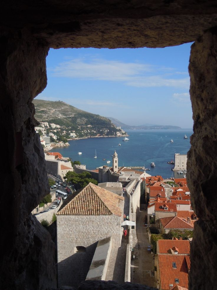 Dubrovnik. During a mediterranean cruise I visited the town Dubrovnik.