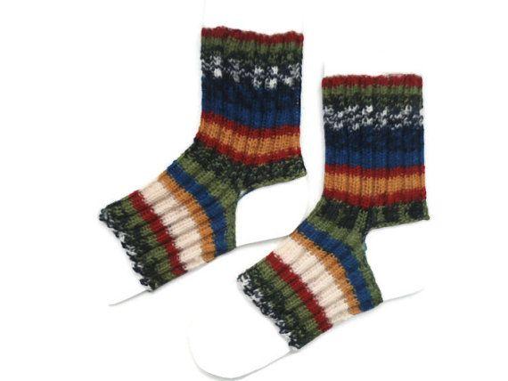 Yoga Socks Ankle Warmer Knitted Yoga Socks Yoga by Knitwoolsocks
