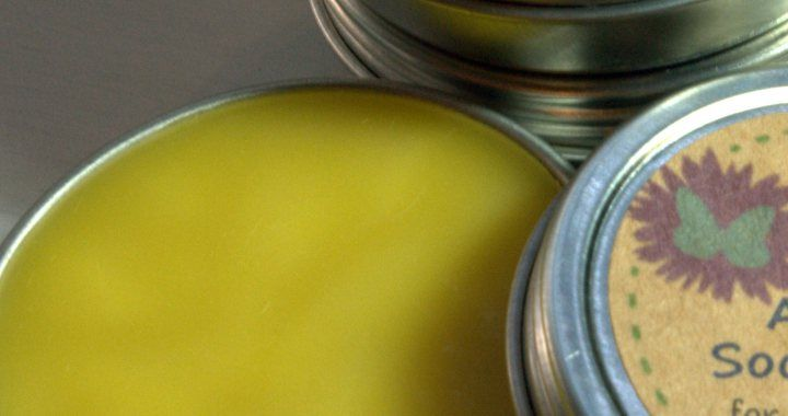Aunt Flo's Soothing Salve – for menstrual cramps, back pains, and frazzled nerves