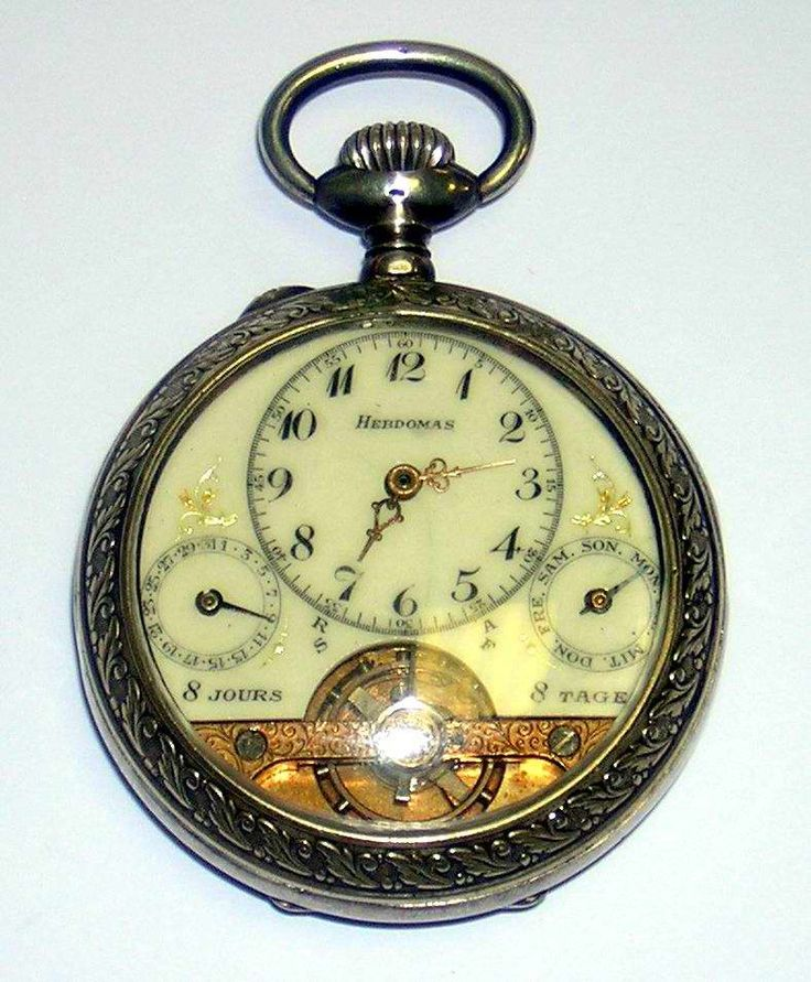 Vintage double pocket watch case
