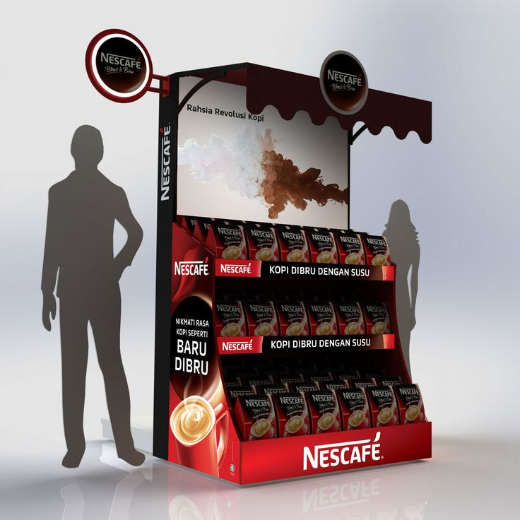 Point of Purchase. Gondola End Display.   Designed by Ivan @ P.O.P Specialist Sdn. Bhd. www.pop-specialist.com