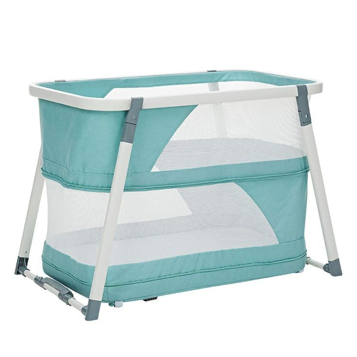 Cradle Bed Portable Folding Baby Travel Cot Crib Bed Playpen For Babies And Toddlers Double Layer Cradle Bedding Portable Crib Baby Travel Bed