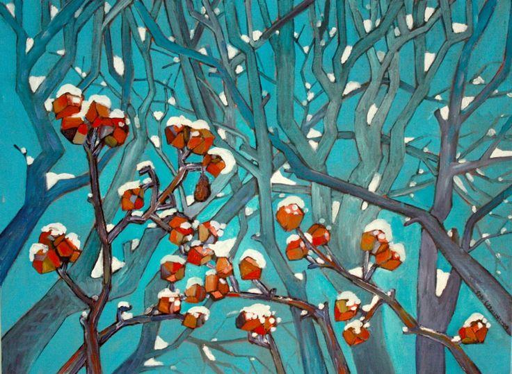 Oil on canvas  by Satu Laaninen