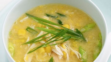 Chicken and Sweetcorn Soup - Taste's just like they serve at a Chinese restaurant!
