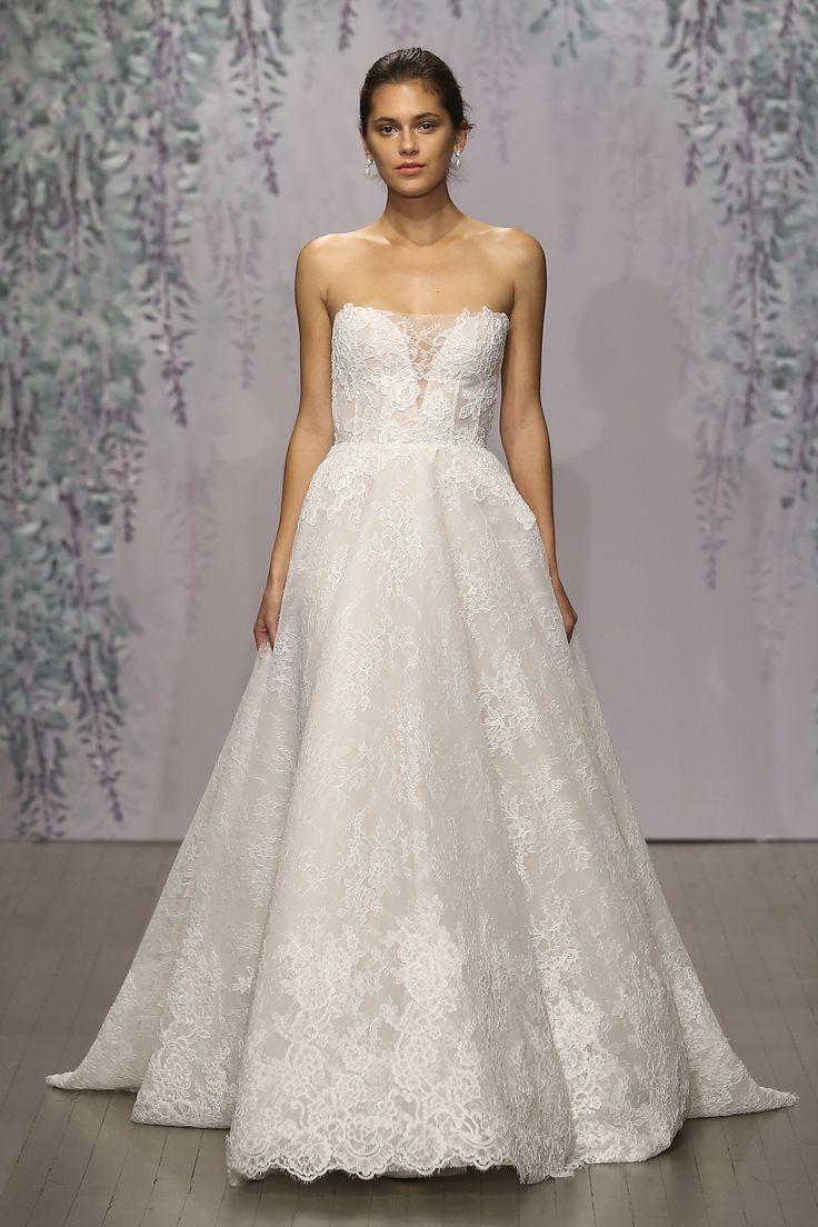 17 best images about monique lhuillier 2016 bridal fall on for Monique lhuillier brooke wedding dress