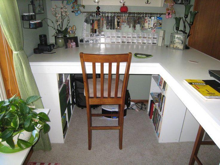 19 best meja images on pinterest craft desk desks and craft rooms how to build a custom craft desk scrapbook roomsscrapbook storageeasy diy solutioingenieria Images