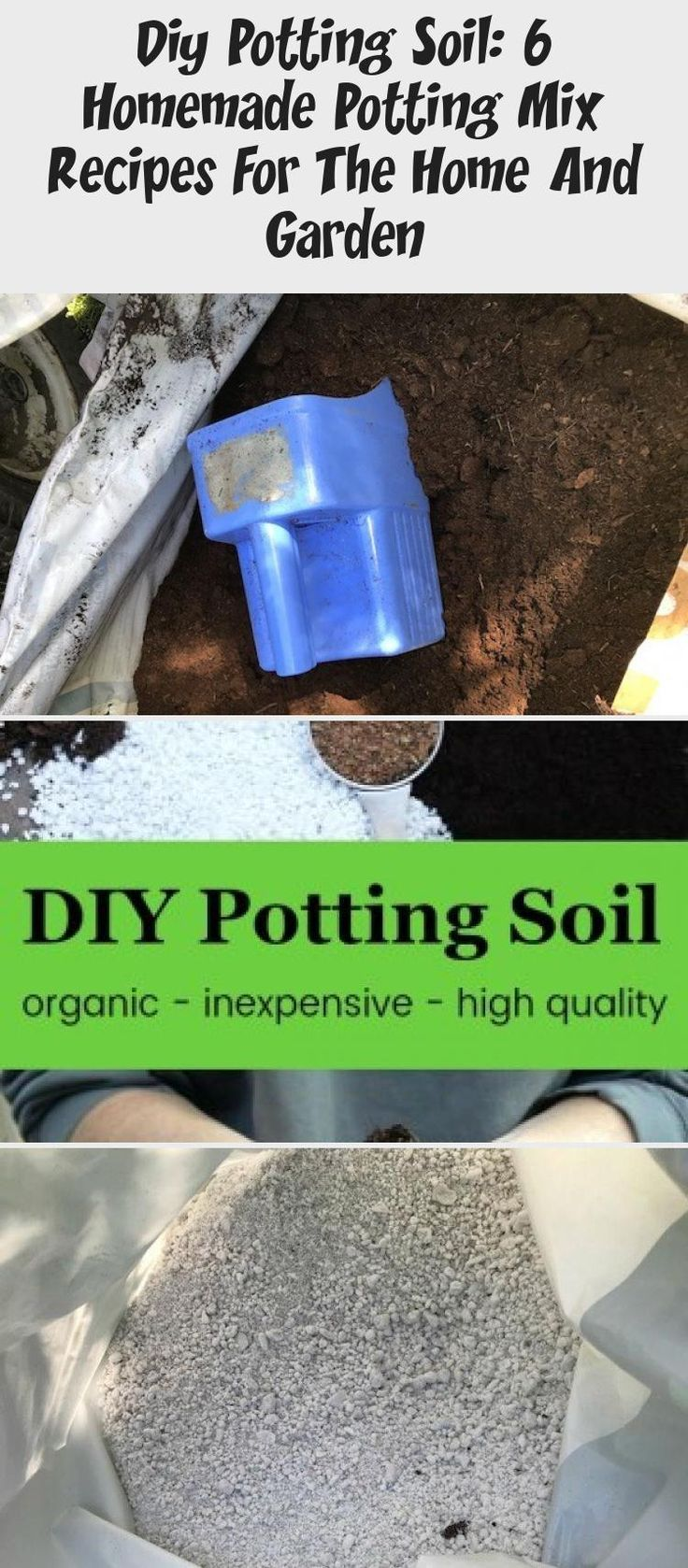 Diy potting soil 6 homemade potting mix recipes for the