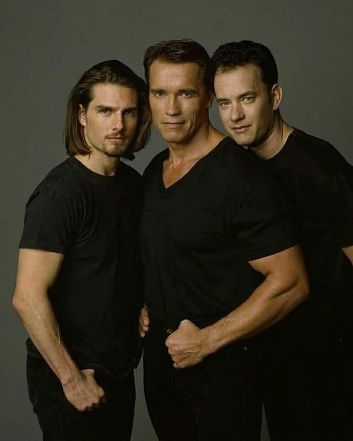 Cine O Culto On Instagram Tom Cruise Arnold Schwarzenegger Y
