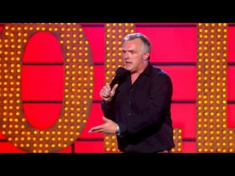 Greg Davies Live At The Apollo, the only ingredient in pie, IS PIE!