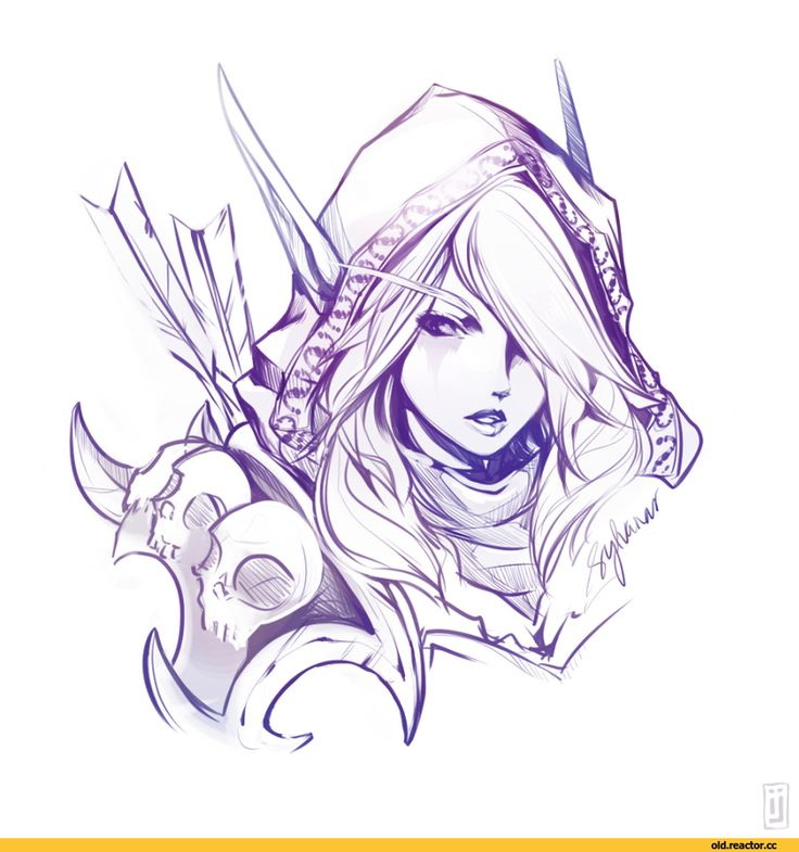 17 Best Images About World Of Warcraft Coloring Pages On