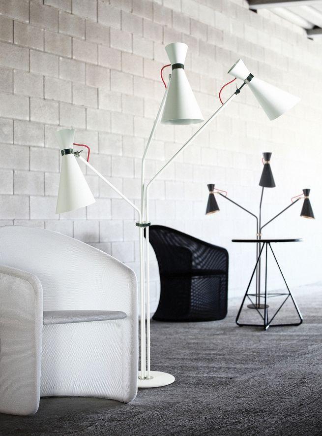 BEST FLOOR LAMPS FOR YOUR LIVING ROOM_See more design news at: http://www.delightfull.eu/en/news/