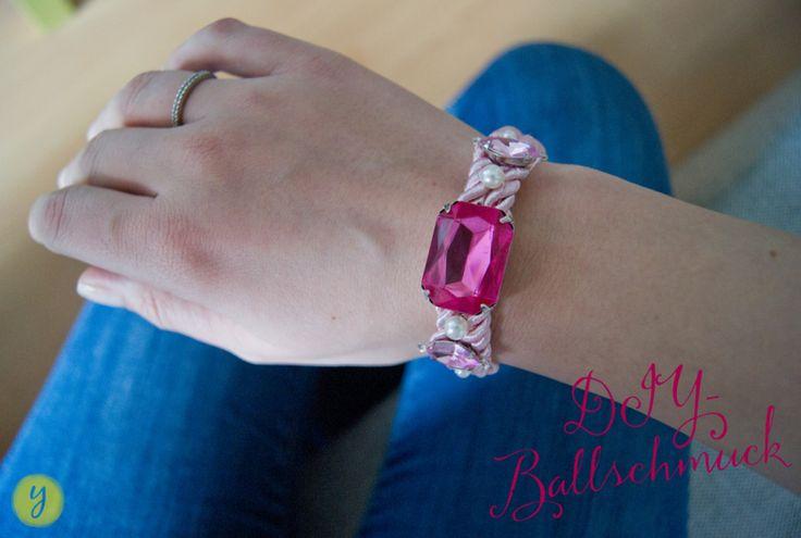 DIY Ballschmuck : Armband