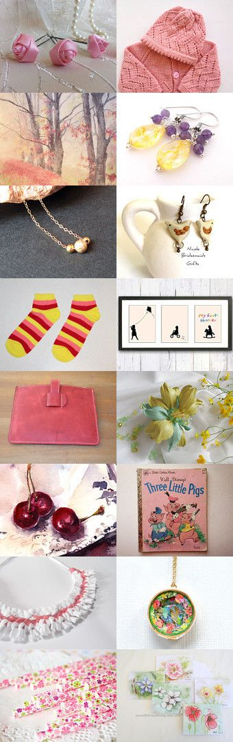 Cozy Summer by Asta on Etsy--Pinned with TreasuryPin.com