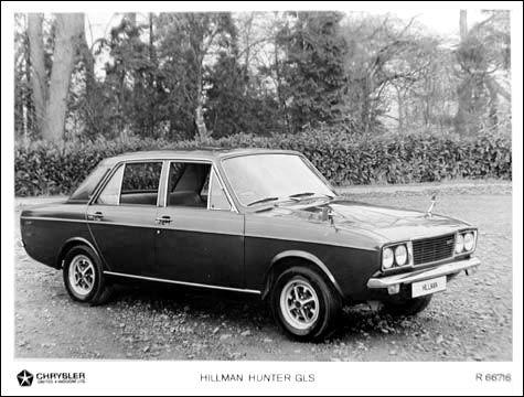1972 Hillman Hunter GLS