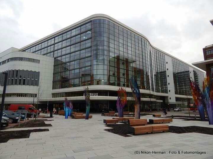 Nederland, Enschede, Medisch Spectrum Twente (MST) locatie Koningsplein