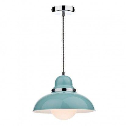 Blue kitchen light