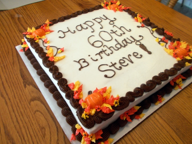 Best 25 fall birthday cakes ideas on pinterest for Fall cake ideas