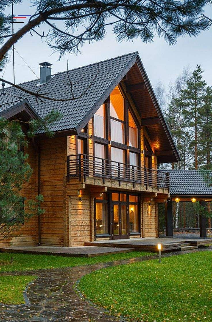 Br Honka Log Homes Provide A Warm And Harmonious Environment For Living Browse Our Classic In 2020 House Designs Exterior Log Homes Exterior Rustic Houses Exterior