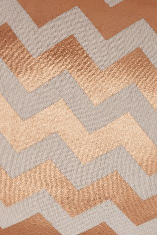 Buy Copper Zig Zag Cushion from the Next UK online shop