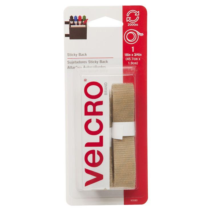 """Velcro 90080 3/4"""" X 18"""" Sticky Back Velcro"""