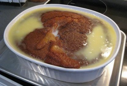 South African Brown Pudding (bruinpoeding)
