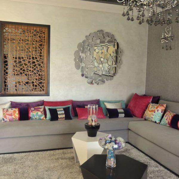 espace deco salon marocain ralisation du talentueux architecte dintrieur de nesdisgn casablanca - Salon Marocain Sahraoui