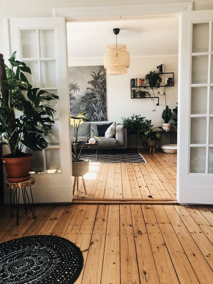 A mix of mid-century modern, bohemian, and industrial interior style. Home and apartment decor, decoration ideas, home design, bedroom, living room, d…
