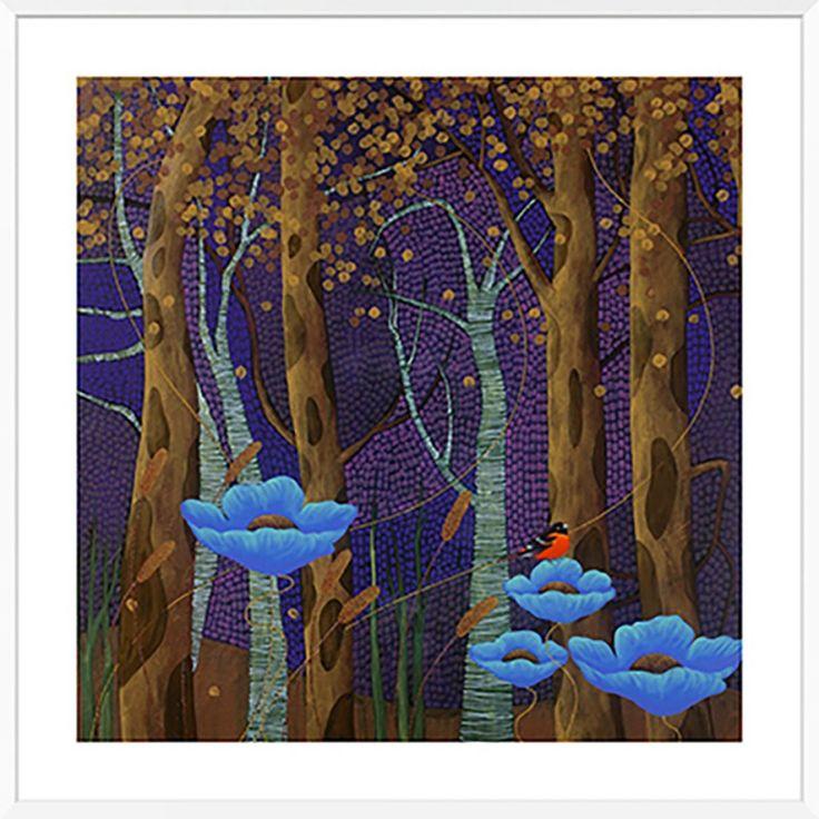 """Cheryl Petersen """"Enchanted Forest""""   Framed Art Print   105x105cmThe Block Shop - Channel 9"""