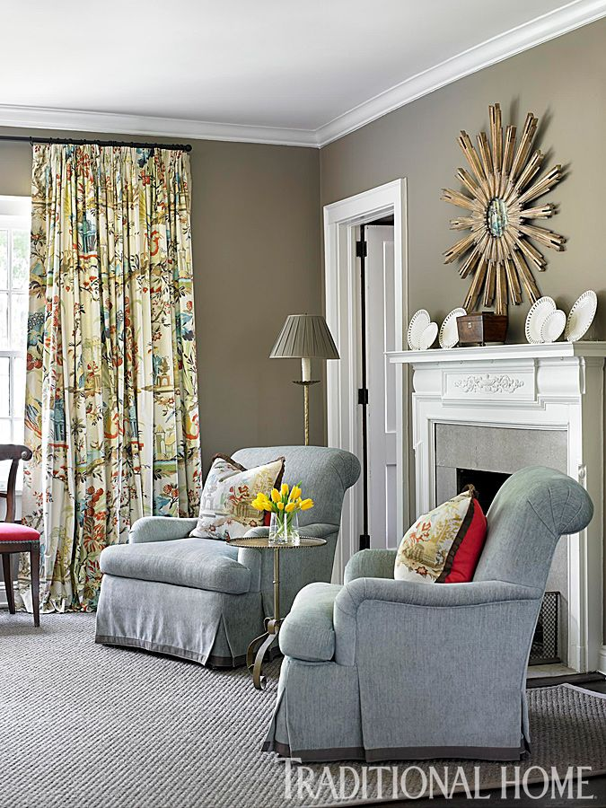 106 best traditional home images on pinterest beautiful - How much do interior designers make a year ...