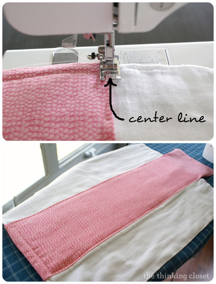Burp Cloth Tutorial for the Beginner Sewist on The Thinking Closet at http://www.thinkingcloset.com/2013/03/27/burp-cloth-tutorial-for-the-beginner-sewist/