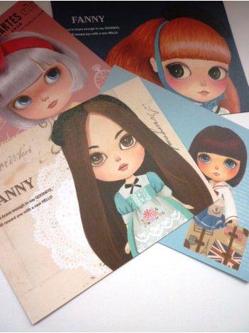 Briefpapier 'Fanny'