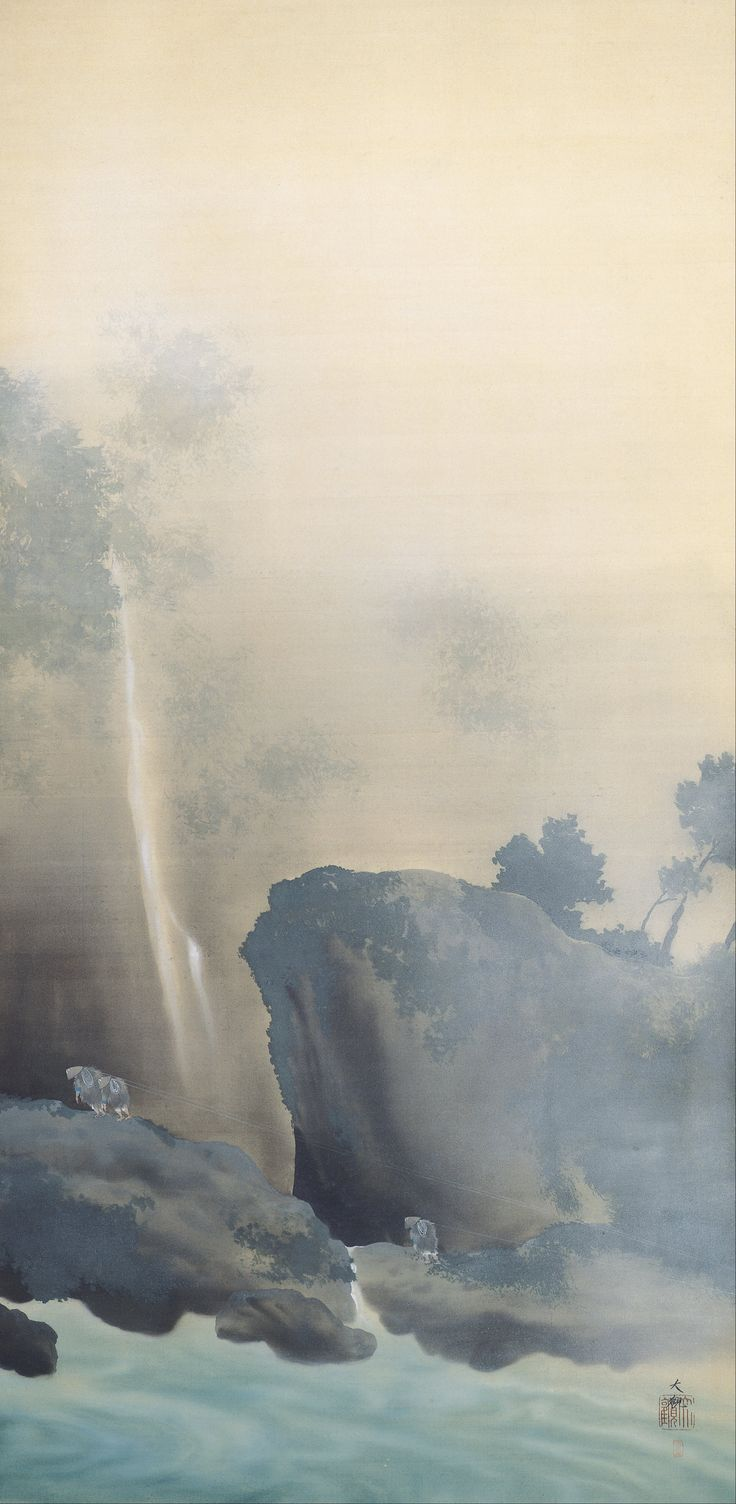 REMORQUAGE D'UN BATEAU - 日本語: 曳船 - YOKOYAMA TAIKAN - 1901