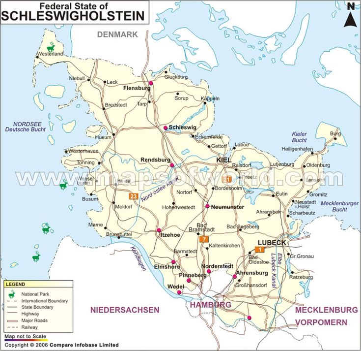 55 best germany maps images on pinterest germany maps and road maps schleswig holstein map map of schleswig holstein germany sciox Images