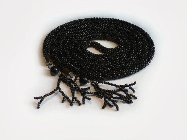 #Lariat Black Arcana - Projektownia - Naszyjniki długie